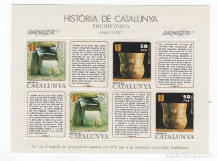 Sellos: Colección HB Historia de Catalunya 11 hojitas - Foto 4 - 189182860