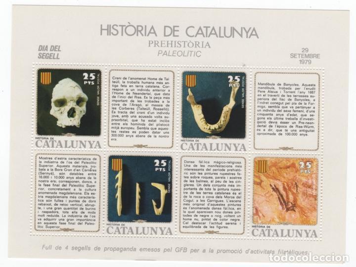Sellos: Colección HB Historia de Catalunya 11 hojitas - Foto 5 - 189182860
