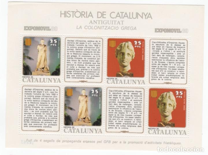 Sellos: Colección HB Historia de Catalunya 11 hojitas - Foto 6 - 189182860