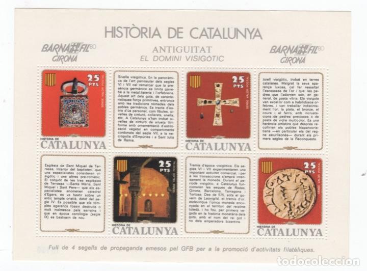 Sellos: Colección HB Historia de Catalunya 11 hojitas - Foto 7 - 189182860