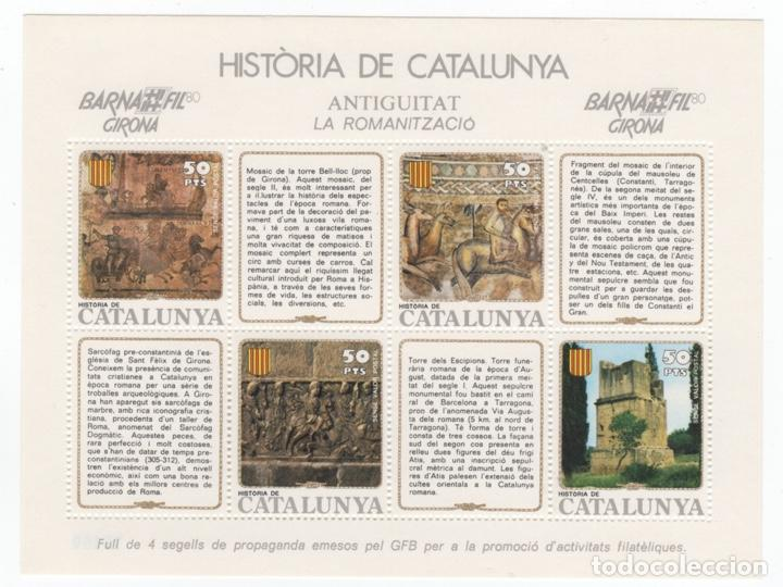 Sellos: Colección HB Historia de Catalunya 11 hojitas - Foto 8 - 189182860