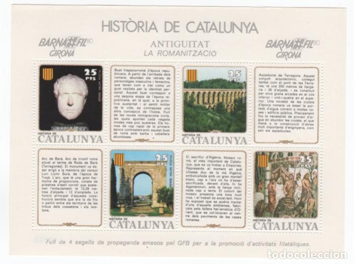 Sellos: Colección HB Historia de Catalunya 11 hojitas - Foto 9 - 189182860