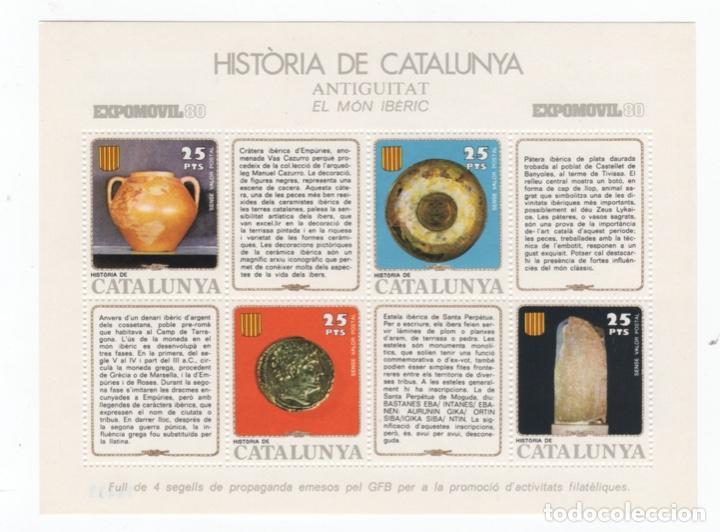 Sellos: Colección HB Historia de Catalunya 11 hojitas - Foto 10 - 189182860