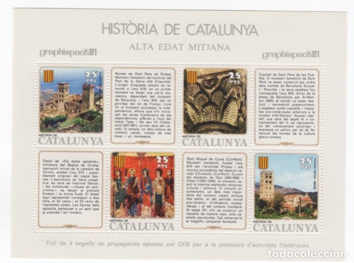 Sellos: Colección HB Historia de Catalunya 11 hojitas - Foto 12 - 189182860
