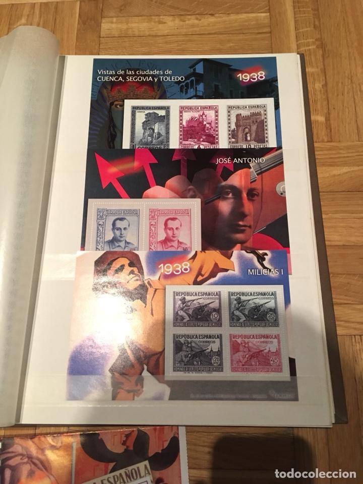 Sellos: Archivador la guerra civil española en sellos de correos - Foto 4 - 193279298