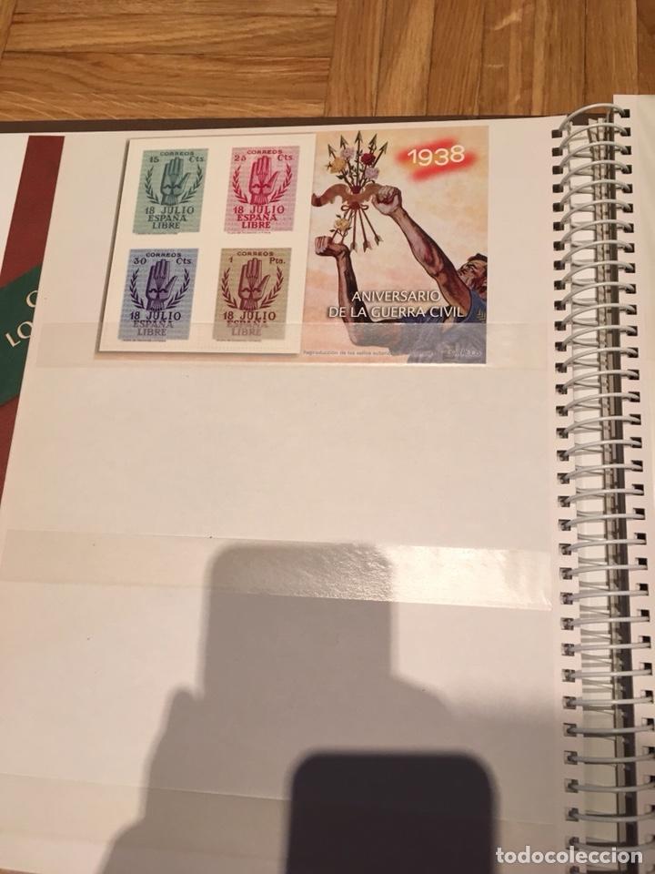 Sellos: Archivador la guerra civil española en sellos de correos - Foto 5 - 193279298