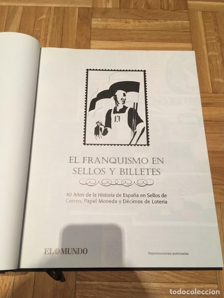 Sellos: Álbum El franquismo en sellos y billetes - Foto 3 - 193279702