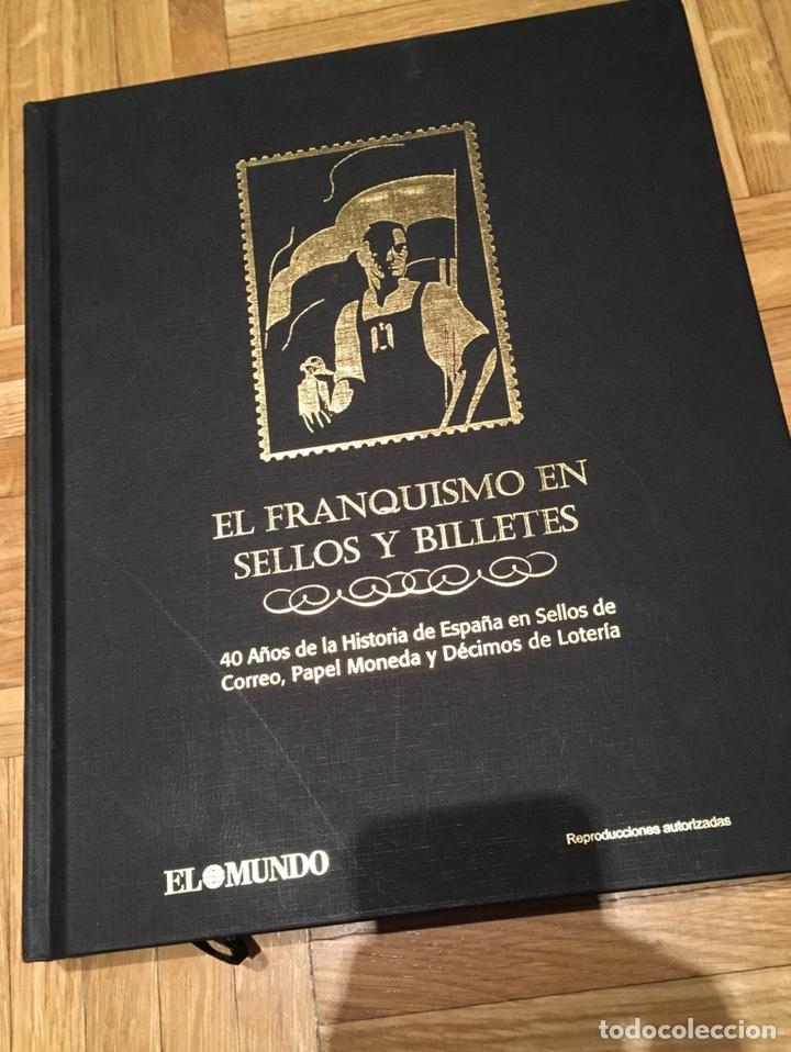 ÁLBUM EL FRANQUISMO EN SELLOS Y BILLETES (Filatelia - Sellos - Reproducciones)