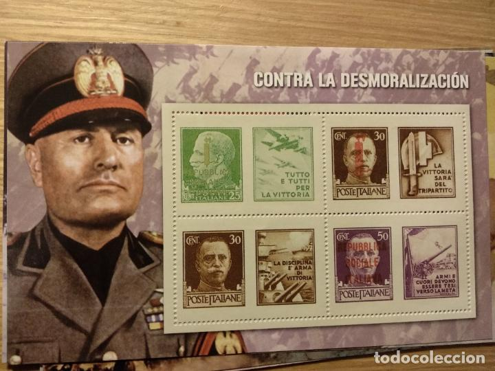 Sellos: HOJAS BLOQUE Y BILLETES DE DE LA COLECCIÓN DE EL MUNDO 70 ANIVERSARIO DE LA II GUERRA MUNDIAL - Foto 7 - 194722850