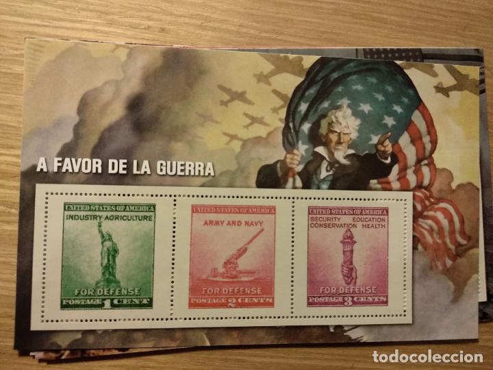 Sellos: HOJAS BLOQUE Y BILLETES DE DE LA COLECCIÓN DE EL MUNDO 70 ANIVERSARIO DE LA II GUERRA MUNDIAL - Foto 9 - 194722850
