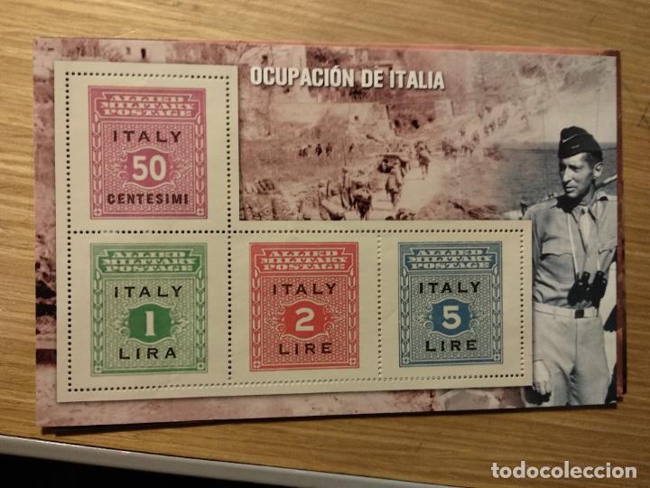 Sellos: HOJAS BLOQUE Y BILLETES DE DE LA COLECCIÓN DE EL MUNDO 70 ANIVERSARIO DE LA II GUERRA MUNDIAL - Foto 11 - 194722850