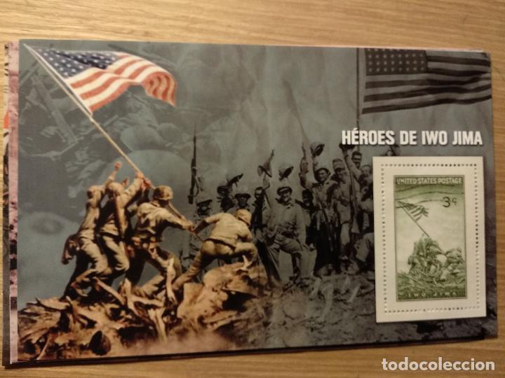 Sellos: HOJAS BLOQUE Y BILLETES DE DE LA COLECCIÓN DE EL MUNDO 70 ANIVERSARIO DE LA II GUERRA MUNDIAL - Foto 12 - 194722850