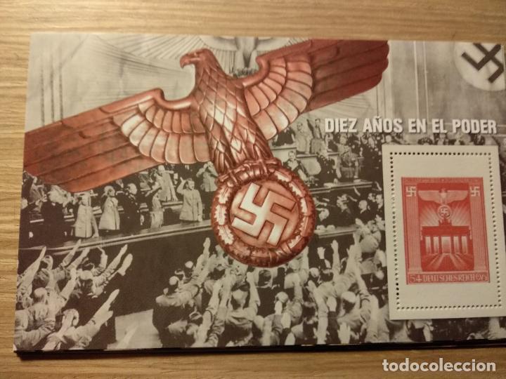 HOJAS BLOQUE Y BILLETES DE DE LA COLECCIÓN DE EL MUNDO 70 ANIVERSARIO DE LA II GUERRA MUNDIAL (Filatelia - Sellos - Reproducciones)