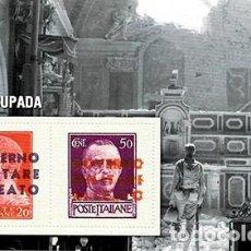 Sellos: REPRODUCCION HOJA BLOQUE. ITALIA OCUPADA - EL MUNDO Nº 45- SELLO-460. Lote 194769137
