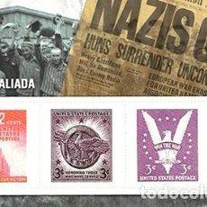 Sellos: REPRODUCCION HOJA BLOQUE. VICTORIA ALIADA - EL MUNDO Nº 27 - SELLO-462. Lote 194769275