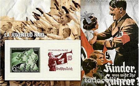 REPRODUCCION HOJA BLOQUE. LA JUVENTUD NAZI - EL MUNDO Nº 5 - SELLO-463 (Filatelia - Sellos - Reproducciones)