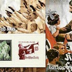 Sellos: REPRODUCCION HOJA BLOQUE. LA JUVENTUD NAZI - EL MUNDO Nº 5 - SELLO-463. Lote 194769782