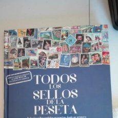 Timbres: COLECCIÓN COMPLETA FACSÍMIL DE TODOS LOS SELLOS DE LA PESETA. Lote 199141621