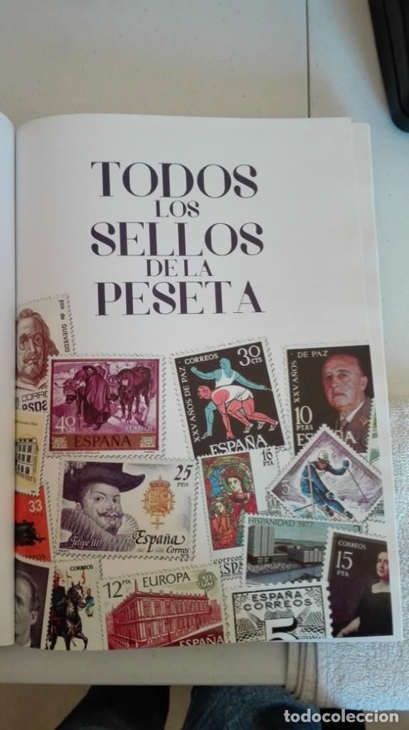 Sellos: Colección completa facsímil de todos los sellos de la peseta - Foto 2 - 199141621