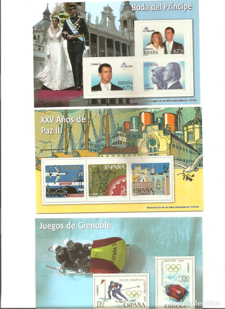 Sellos: 2183. REPRODUCCION DE 31 SELLOS DE ESPAÑA - Foto 3 - 206254302
