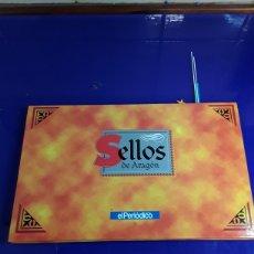 Sellos: SELLOS DE ARAGON EN PLATA DE LEY. Lote 206319143