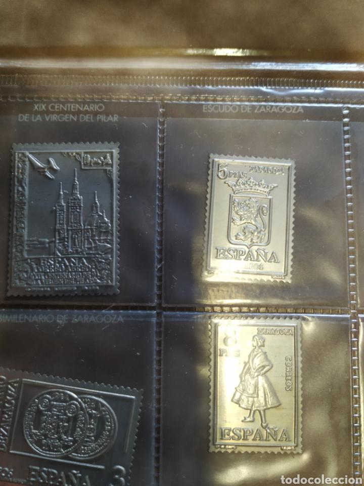 Sellos: 7 sellos de Aragón en plata - Foto 4 - 207528690