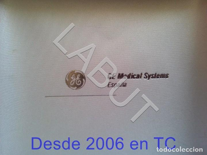 Sellos: GENERAL 2 SELLOS DE 18 GRS PLATA ELECTRICS MEDICAL SYSTEMS ESPAÑA WILHELM C RONTGEN 250 GRS CJ1 - Foto 2 - 211597822