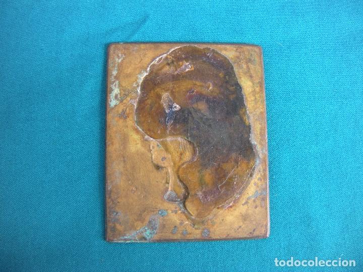 Sellos: SELLO DE BRONCE 1853 DE 11 X 9 CM - Foto 2 - 214962397