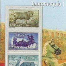 Timbres: REPRODUCCIÓN HOJA BLOQUE TAUROMAQUIA I. EL FRANQUISMO EN SELLOS Y BILLETES. EL MUNDO. SELLOS-617 ,2. Lote 215245930