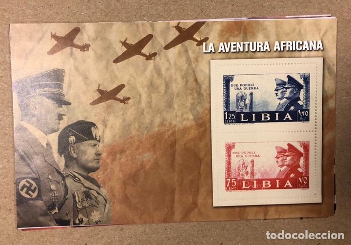 Sellos: LOTE DE 13 HOJAS BLOQUE ALUSIVAS A LA 2ª GUERRA MUNDIAL - BANDO NAZI - FACSIMIL. - Foto 6 - 216399572