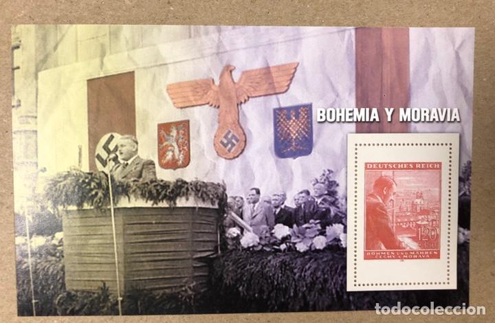 Sellos: LOTE DE 13 HOJAS BLOQUE ALUSIVAS A LA 2ª GUERRA MUNDIAL - BANDO NAZI - FACSIMIL. - Foto 21 - 216399572