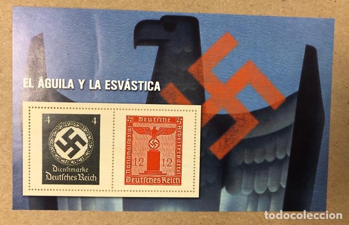 Sellos: LOTE DE 13 HOJAS BLOQUE ALUSIVAS A LA 2ª GUERRA MUNDIAL - BANDO NAZI - FACSIMIL. - Foto 23 - 216399572