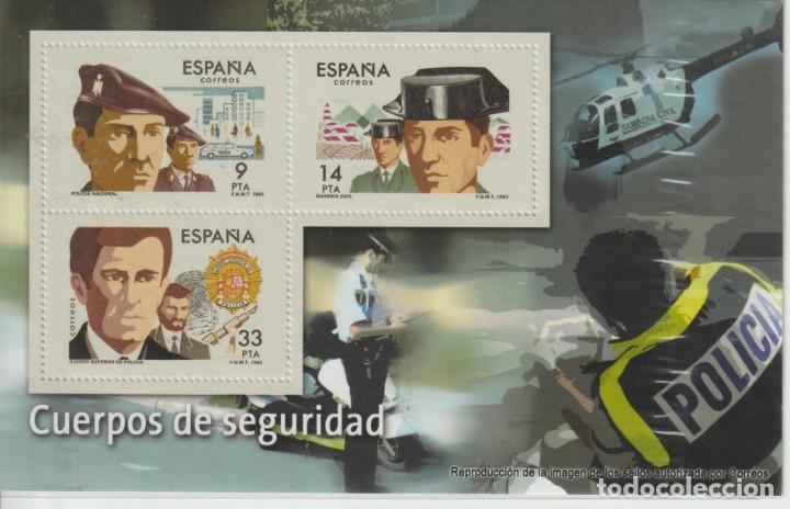 HOJITA ESPAÑA- REPRODUCIONES AUTORIZADAS (Filatelia - Sellos - Reproducciones)