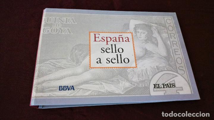COLECCIÓN ESPAÑA SELLO A SELLO EL PAIS Y BBVA (Filatelia - Sellos - Reproducciones)