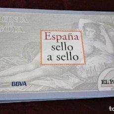 Sellos: COLECCIÓN ESPAÑA SELLO A SELLO EL PAIS Y BBVA. Lote 217532405