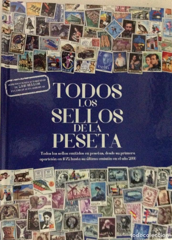 ÁLBUM TODOS LOS SELLOS DE ESPAÑA, REPRODUCCIONES AUTORIZADAS (2015). 10 LÁMINAS. (Filatelia - Sellos - Reproducciones)