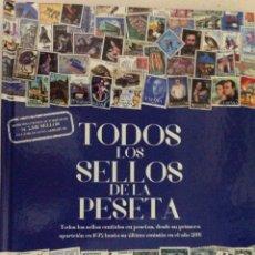 Sellos: ÁLBUM TODOS LOS SELLOS DE ESPAÑA, REPRODUCCIONES AUTORIZADAS (2015). 10 LÁMINAS.. Lote 218543061