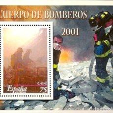 Timbres: 101 CUERPO DE BOMBEROS 2001 - EL MUNDO - LA ESPAÑA CONTEMPORANEA EN SELLOS. Lote 221286605