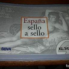 Sellos: ESPAÑA. SELLO A SELLO. BBVA/EL PAÍS. COLECCION COMPLETA 330 REPRODUCCIONES. DANI.. Lote 221361225