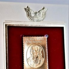 Timbres: SELLO DE ORO 22.KT. DR MARY WALKER MEDAL OF HONOR RECIPIENT 1982 - 45 X 25.MM. Lote 263874805