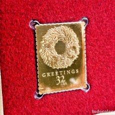 Francobolli: SELLO DE ORO 22.KT. CHRISTMAS 1998 CHILI PEPPER WREATH 1998 - 23 X 30.MM. Lote 225157732