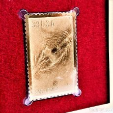 Francobolli: SELLO DE ORO 22.KT. EDWIND POWELL HUBBLE EGG NEBULA 2000 - 25 X 39.MM. Lote 225163655