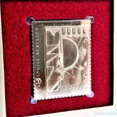 Francobolli: SELLO DE ORO 22.KT. LOUISE NEVELSON DAWNS WEDDING CHAPEL I 2000 - 40 X 31.MM. Lote 225590720