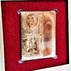 Francobolli: SELLO DE ORO 22.KT. LOUISE NEVELSON ROYAL TIDE I 2000 - 40 X 31.MM. Lote 225595130
