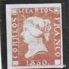 Sellos: ESPAÑA.IMAGEN NO ACEPTADA.REPRODUCCIONES.ISABEL II DE 1850 A 1869. Lote 234678510