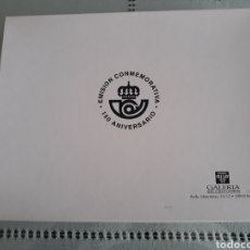 Sellos: EMISIÓN ESPECIAL CONMEMORATIVA DE LOS 150 AÑOS DEL SELLO EN ESPAÑA.. Lote 234880140