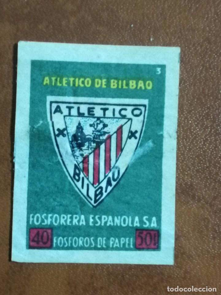 VIÑETA ATHLETICO DE BILBAO - ATHLETIC CLUB - FOSFORERA ESPAÑOLA (Filatelia - Sellos - Reproducciones)