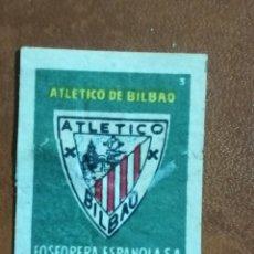 Sellos: VIÑETA ATHLETICO DE BILBAO - ATHLETIC CLUB - FOSFORERA ESPAÑOLA. Lote 240113710