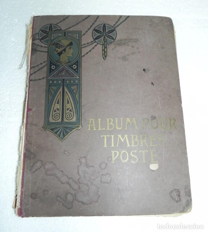 ALBUM TIMBRES - POSTE, EDITION SCHWANEBERGER, SELLOS DE TODO EL MUNDO, TIENE MUCHOS SELLOS, PERO EST (Filatelia - Sellos - Reproducciones)