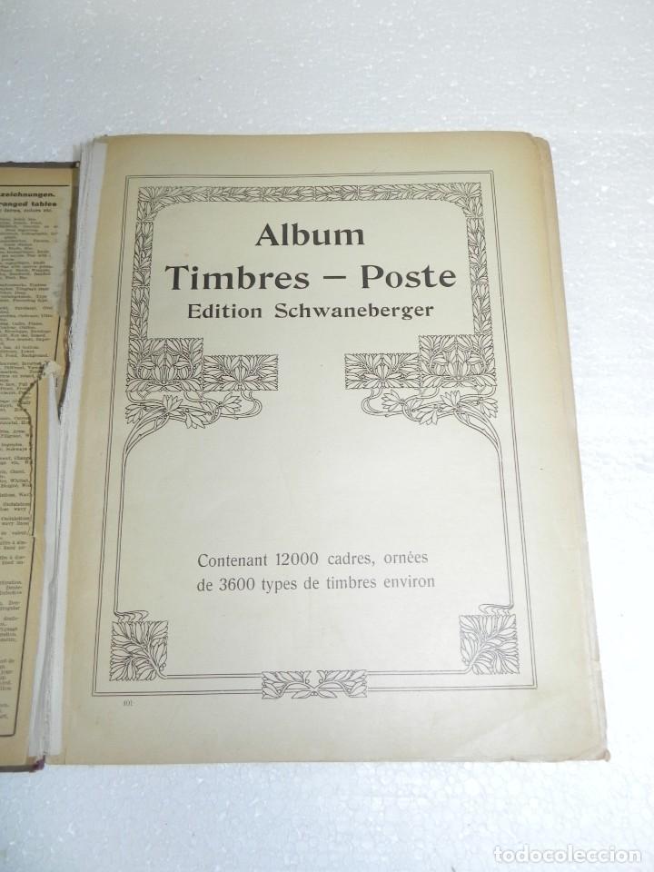 Sellos: ALBUM TIMBRES - POSTE, EDITION SCHWANEBERGER, SELLOS DE TODO EL MUNDO, TIENE MUCHOS SELLOS, PERO EST - Foto 2 - 243527860